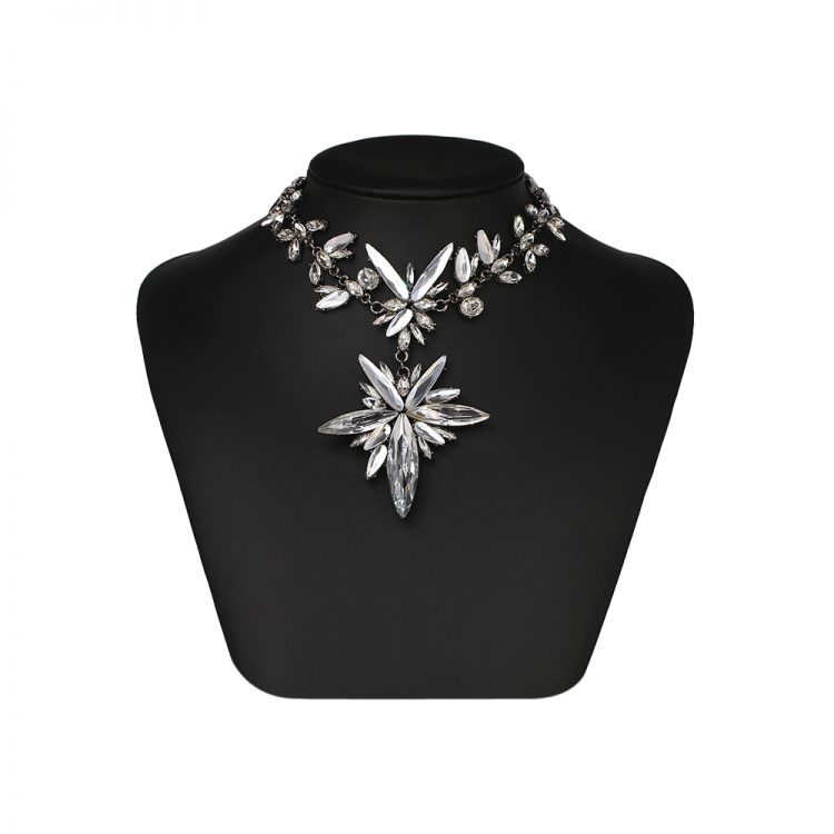 Flower Party Zircon Necklace