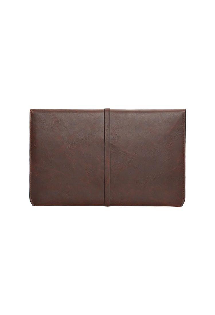 Tan Leather Handmade Women Clutch