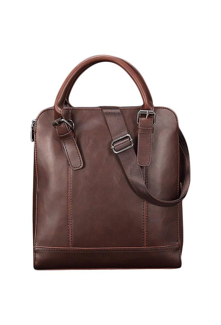 Tan Leather Cross Body Bag