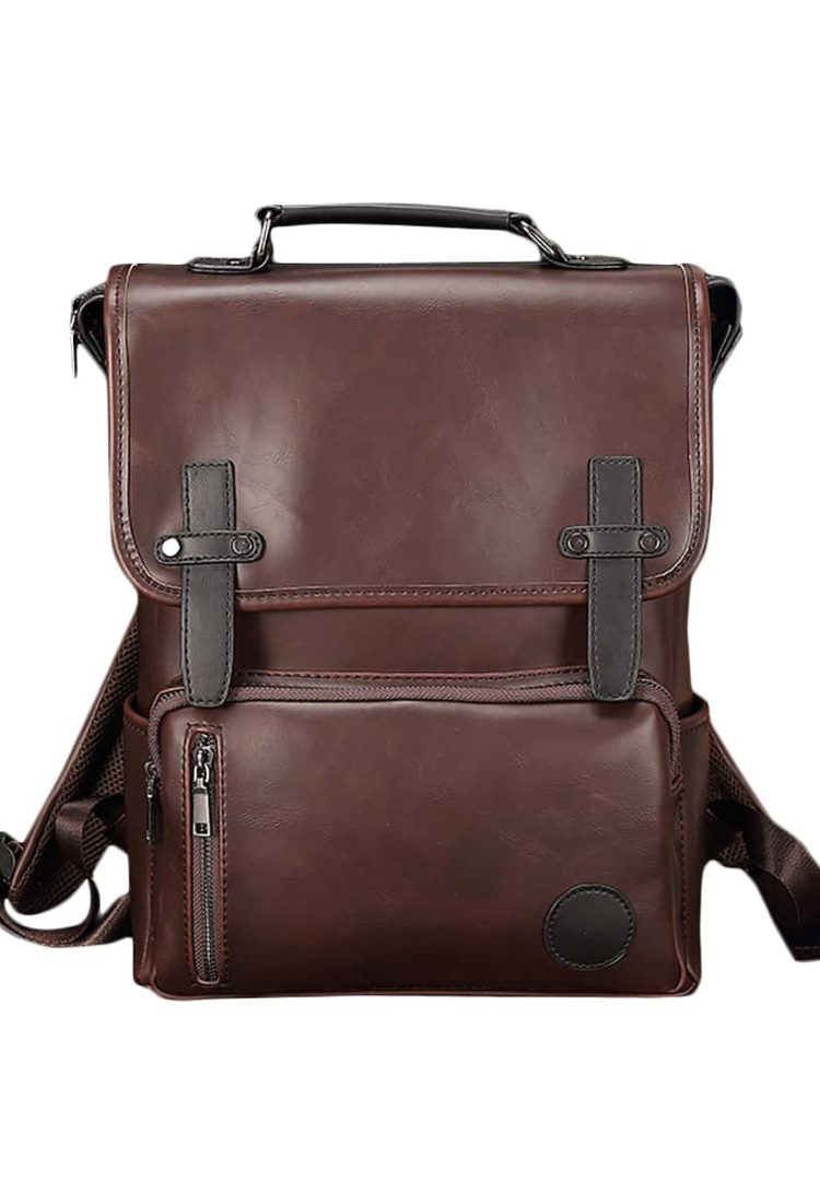 Vintage Leather Backpack in India