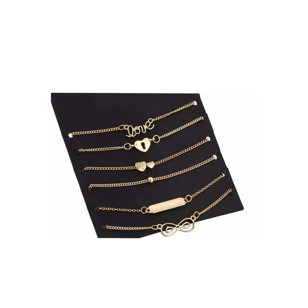 Buy Gold Fashion Bracelet Set online in India