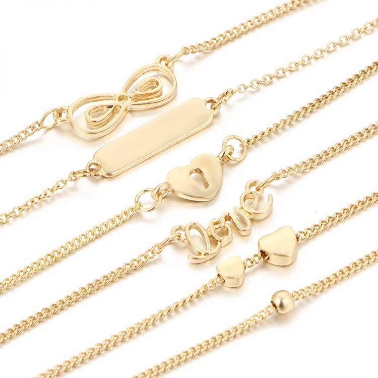 Six Bracelet Set For Girls