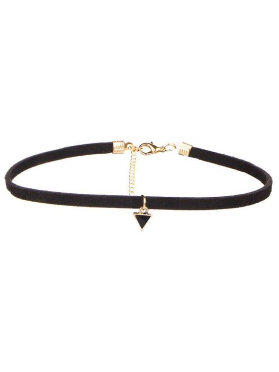Triangle Choker necklace by femnmas