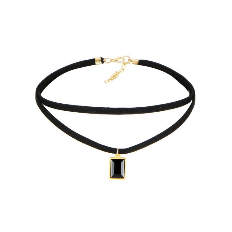 Buy Layered Choker Pendant Necklace in India