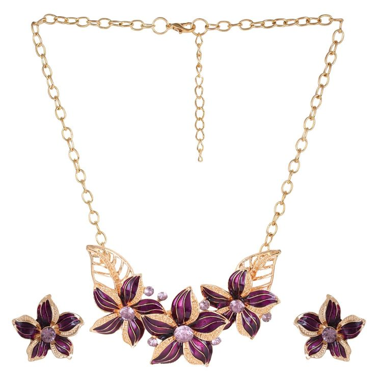 Statement Necklace Set For Girls