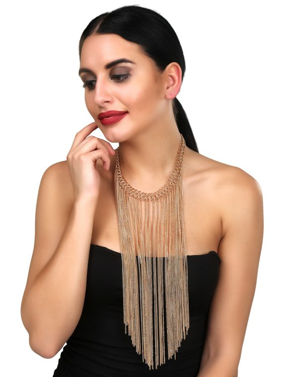Long Statement Necklace For Girls