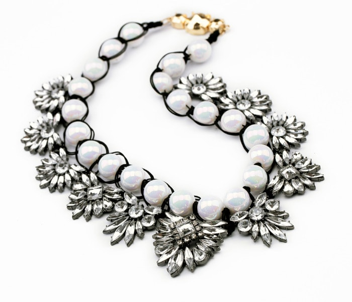 Best White Pearl Statement Necklace Online in India