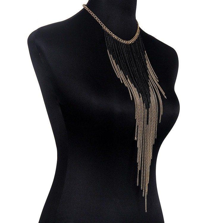 Multi Tassel Body Jewellery For Girls