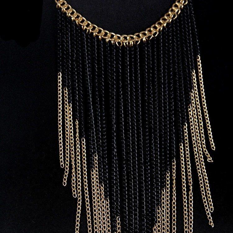 Long Tassel Body Chain For Girls
