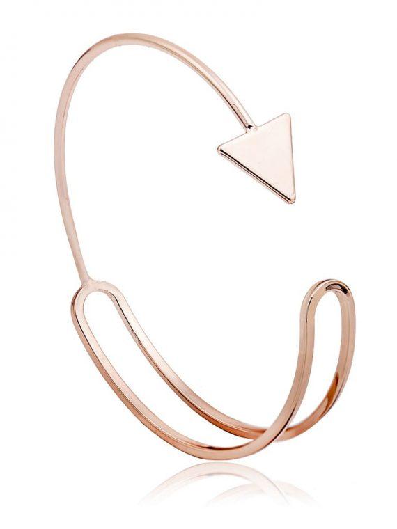 Golden Arrow Cuff For Women By Femnmas