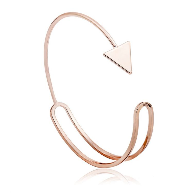 Golden Arrow Cuff For Women By Femnmas