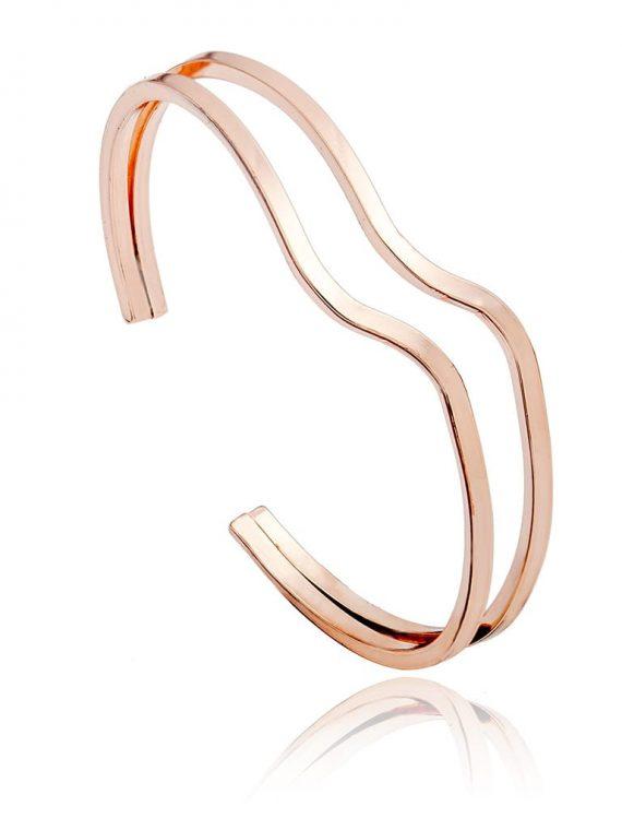 Golden Designer Cuff Bracelet for Girls
