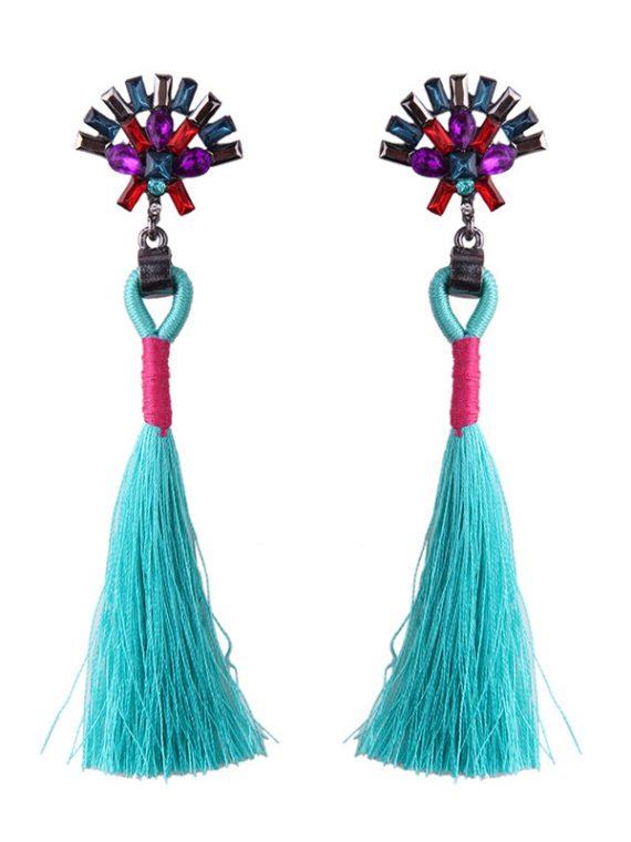 Boho Thread Earrings For Girls
