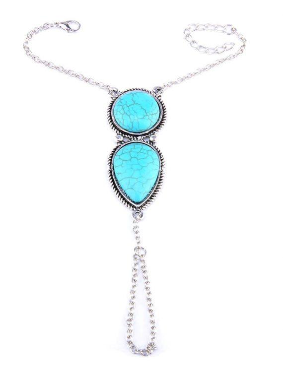 Femnmas Blue Stone Designer Bracelet For Girls
