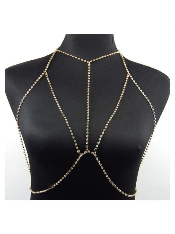 Bra Body Chain By femnmas
