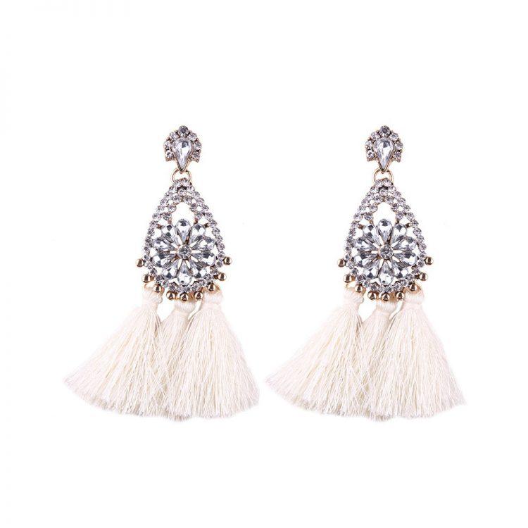 Celebrity Style Earrings by femnmas