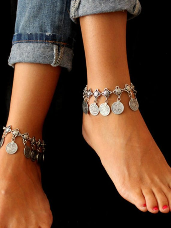 Coin anklet By Femnmas Online