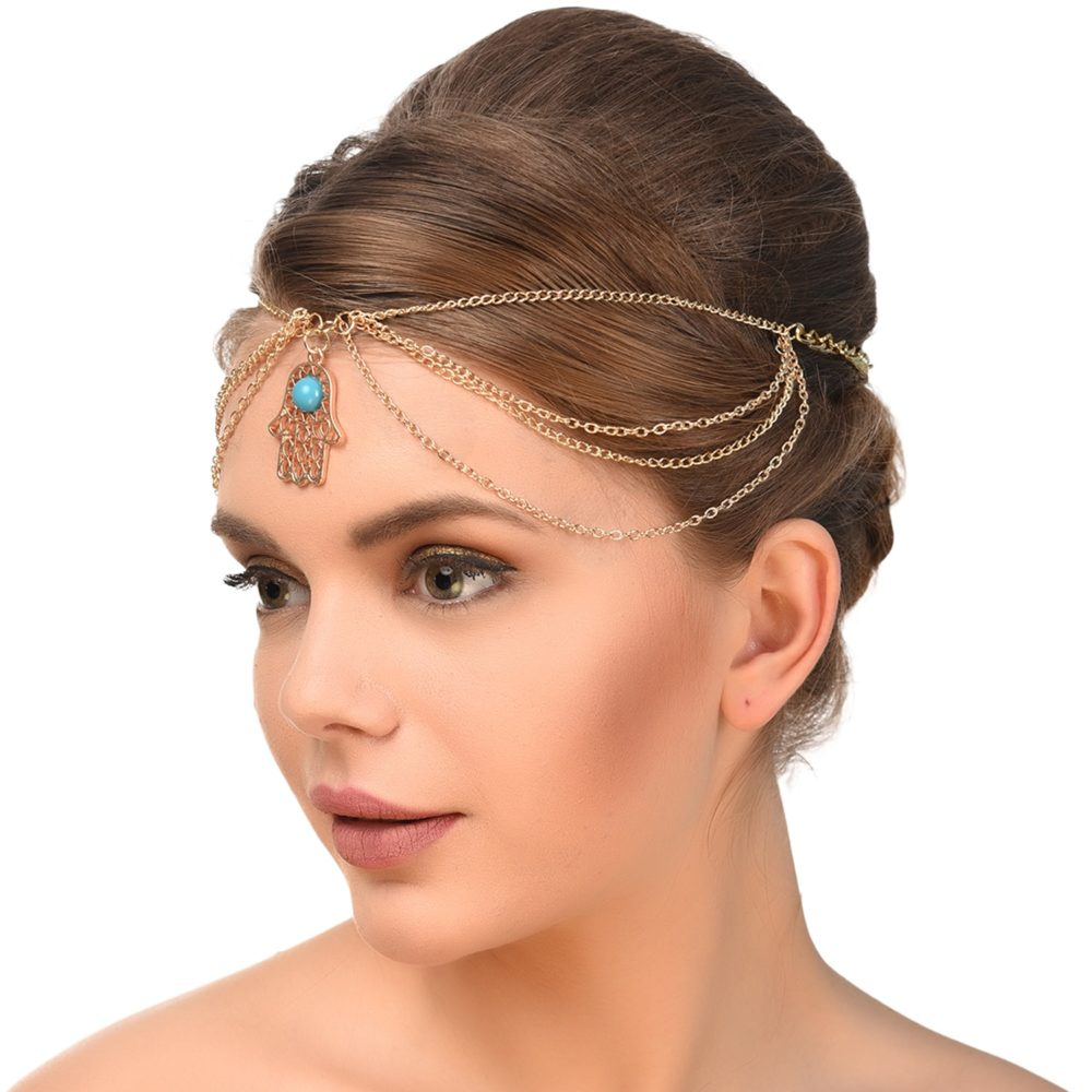 Hand Symbol Designer Hair Jewellery For Women