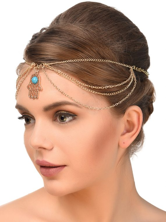 Hand Symbol Designer Hair Jewellery For Women