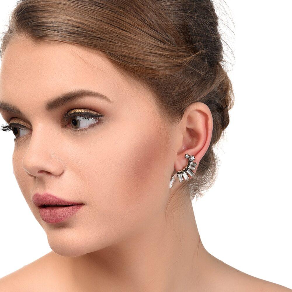 Zircon Designer Earrings For Women