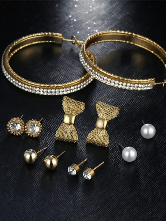 Golden Fashion Jewellery Gift Set For Girls