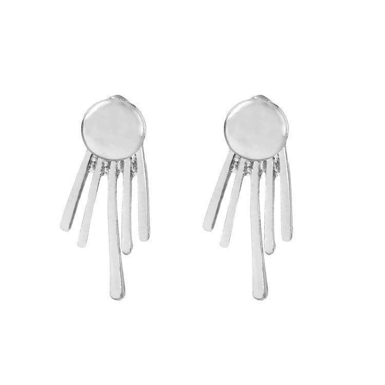 Silver Earrings Jackets for Girls