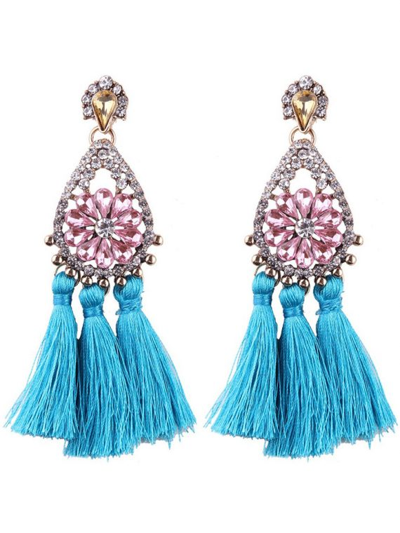 Tassel Celebrity Earrings by Femnmas