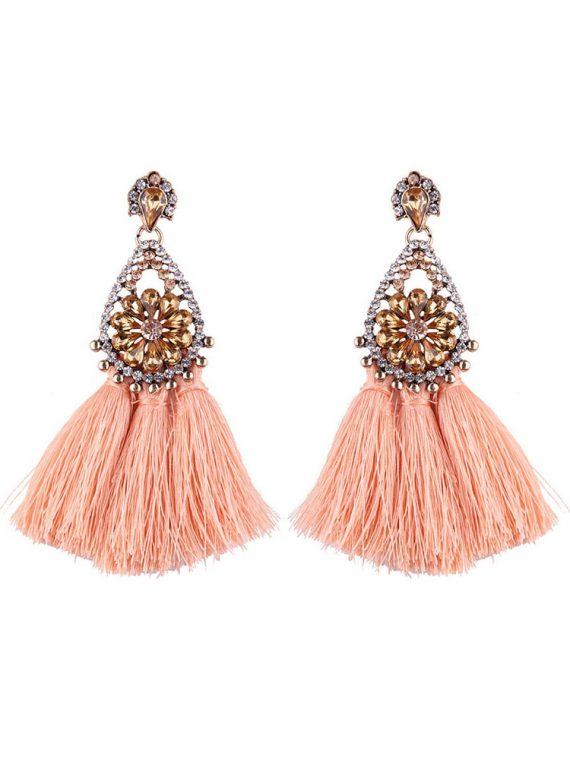 Tassel party earrings by femnmas