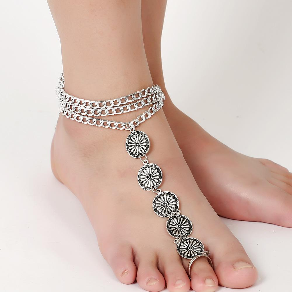 Coin Anklet By Femnmas
