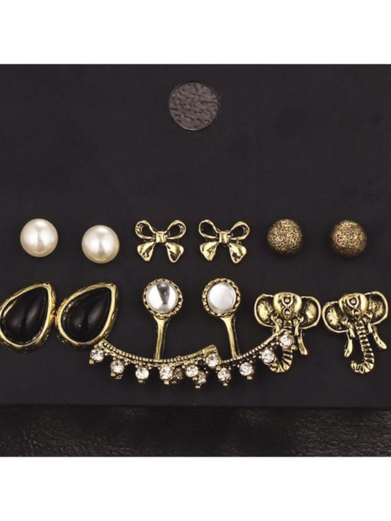 Femnmas 6 Earring Casual set for Girls by femnmas