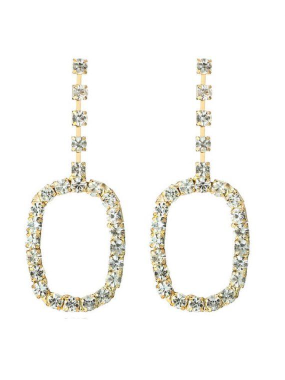 Zircon Designer Earrings For Girls