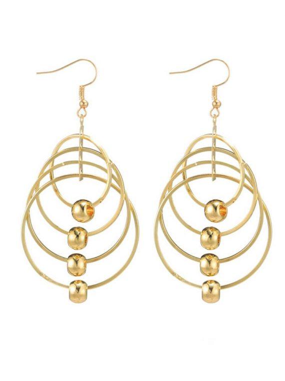 Multi Loop Designer Earrings For Women