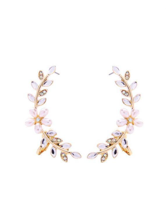 Leaf Designer Earrings For Girls