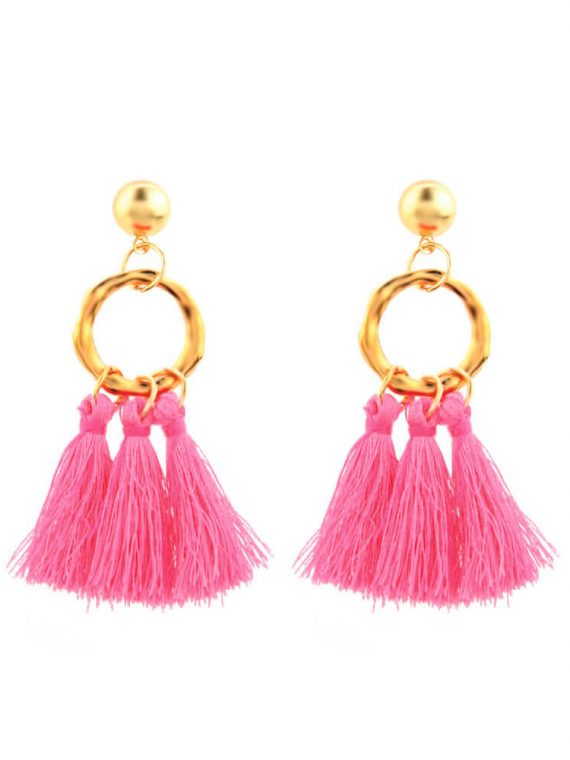 Thread Earrings For Girls By Femnmas