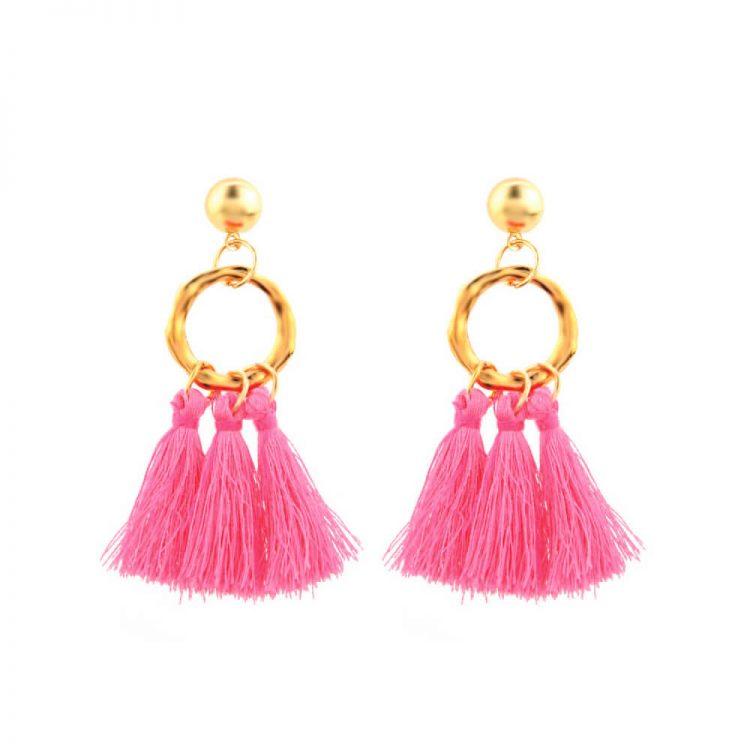Thread Earrings For Girls By Femnmas