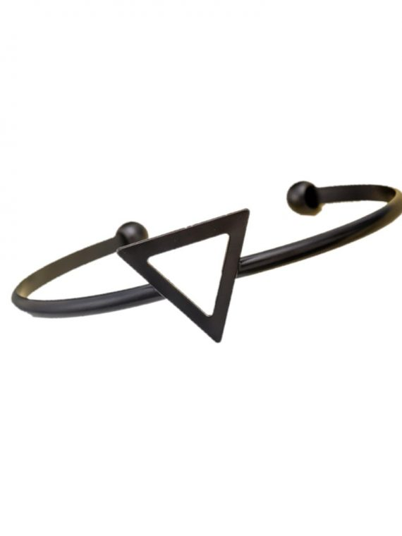 Black Triangle Women Bracelet