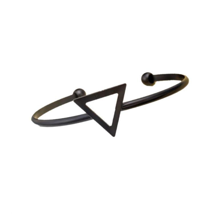 Black Triangle Women Bracelet