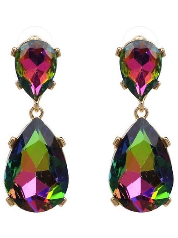 Multi color Designer Stone Earring For Women