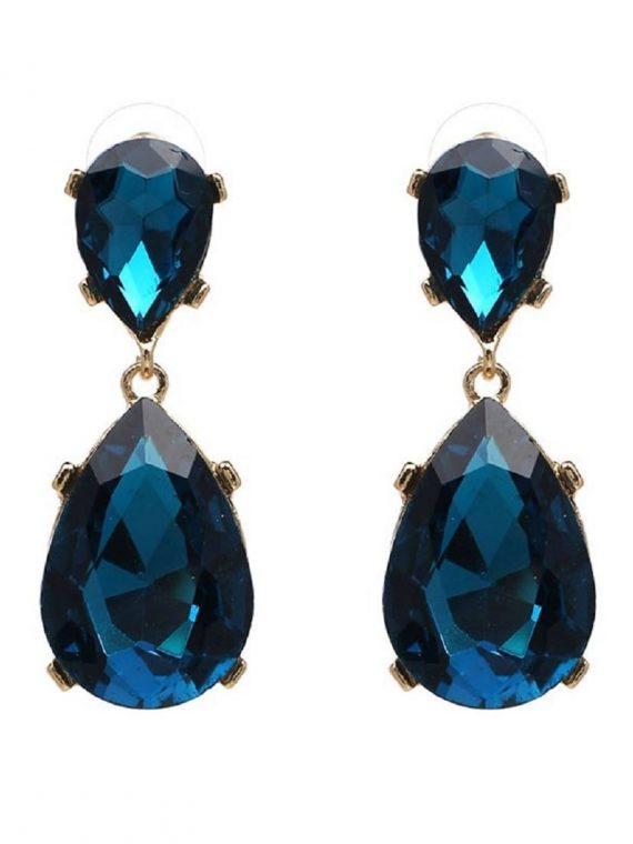 Multi Color Gemstone Fashion Earring for Women