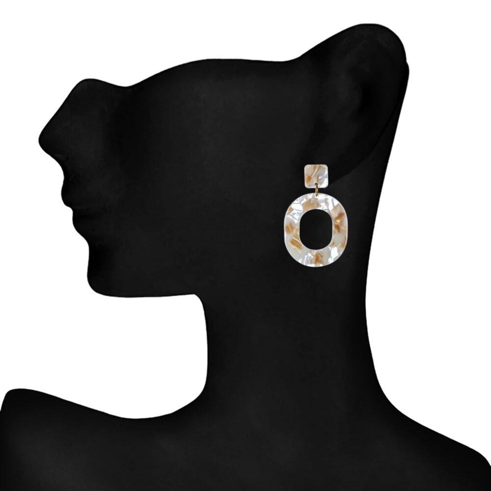 Designer statement earrings for Girls