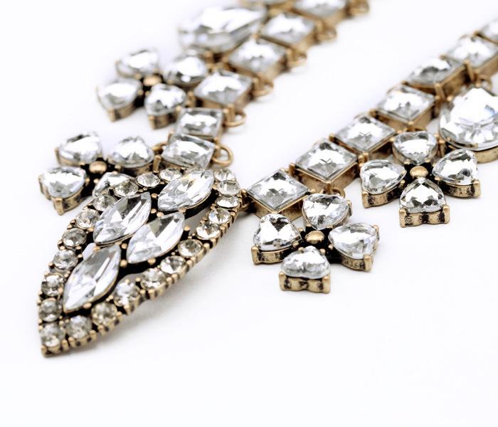 Stone Studded Designer Necklace For Girls