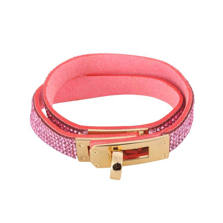 Pink Bracelet From Femnmas