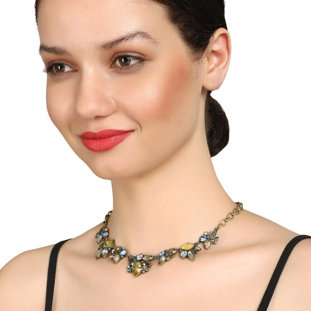 Simple Sleek Designer Choker Necklace By Femnmas