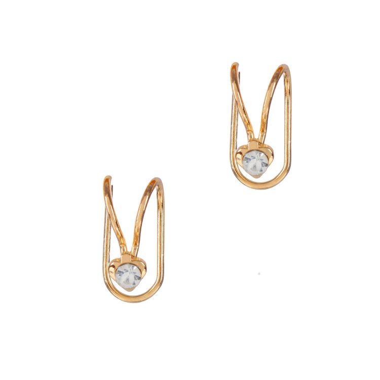 Golden earcuff by femnmas