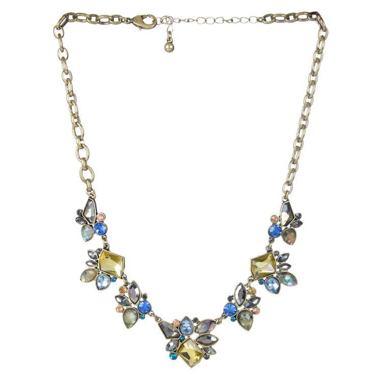Multi Stone Designer Choker Necklace