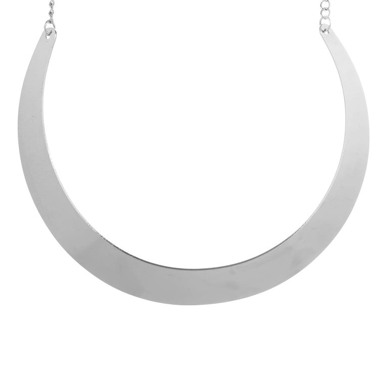 Silver Plate Necklace For Girls