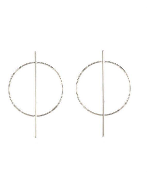 Silver Earrings By Femnmas