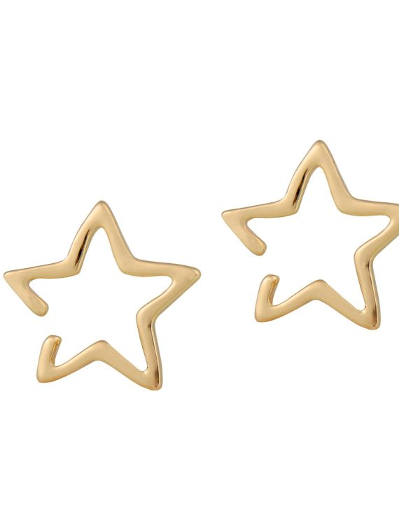 Star Non-pierced Earrings by Femnmas