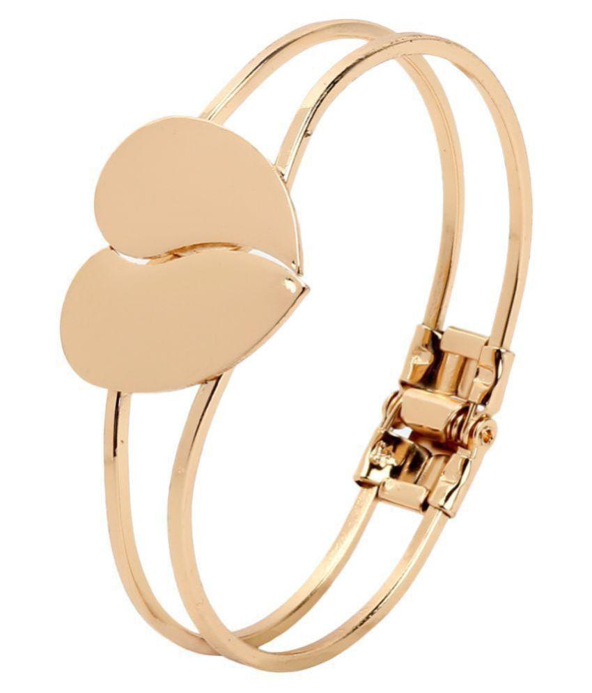 Heart Shape bracelet Cuff