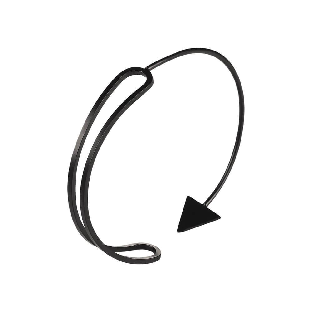 Black Arrow Bracelet Cuff
